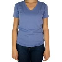 Imagem - Camiseta Feminina Tommy Hilfiger Gola V Th1m87657754 - 043337