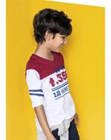 Imagem - Camiseta Gola V Hering Kids Manga Longa 5c4hnoa10 - 047080