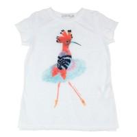Imagem - Camiseta Infantil Feminina Acostamento Fashion 68802117  - 045560
