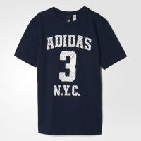 Imagem - Camiseta Infantil Masculina Adidas Number S97027 - 054325