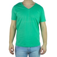 Imagem - Camiseta Masculina Coca-Cola Gola V 035.32.04821  - 045955