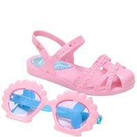 Imagem - Sandália Infantil Menina Grendene Kids Disney Princesas Fun Com Óculos 22486  - 061715