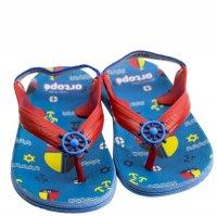 Imagem - Chinelo Infantil Masculino Ortopé Aqua Flex PVC - 055845