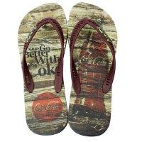 Imagem - Chinelo Masculino Coca-Cola Rust Wood Cc2271  - 055532