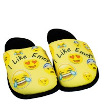 Imagem - Chinelo Pantufa Infantil Smile Emojis 181091 - 054311