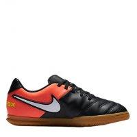 Imagem - Chuteira Infantil Futsal Nike Tiempo Rio III JR 819196-108  - 053829