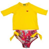Imagem - Conjunto de Biquíni Bebê Menina Hering Kids C9erfise01  - 043519