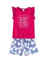 Imagem - Conjunto Infantil Feminino Hering Kids 5a3dkrh10 - 051592