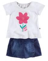 Imagem - Conjunto Infantil Feminino Hering Kids C9gnjelus  - 051402