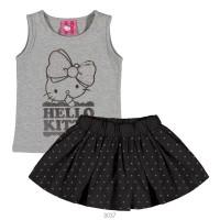 Imagem - Conjunto Infantil Hello Kitty Blusa e Saia 1207.87226 - 051101
