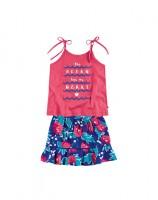 Imagem - Conjunto Infantil Menina Hering Kids C9hlense01  - 053598