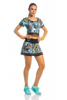 Imagem - Cropped Rosa Tatuada Fitness Tela 3626  - 043971