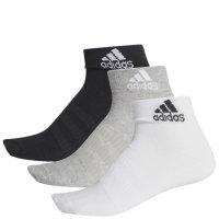 Imagem - Kit 3 Pares Meia Adidas Ankle Dz9434  - 060085