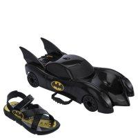 Imagem - Sandália Infantil Grendene Kids Batman Com Batmóvel 22169  - 060350