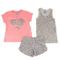 Imagem - Pijama Infantil Hering Kids 3 Peças 56pa1b10 - 045168