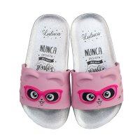 Imagem - Chinelo Slide Infantil Grendene Kids Luluca Trend Fun Menina 22629  - 061687