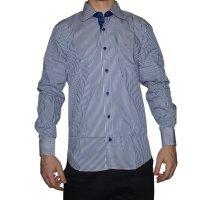 Imagem - Camisa Masculina Luiz Eugenio Slim Confort 8280 - 038431