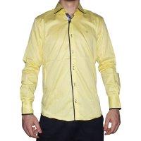 Imagem - Camisa Masculina Luiz Eugenio Slin Confort 8120 - 035689