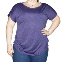 Imagem - Blusa Feminina Fila Drapped Plus Size 1005612 - 061956