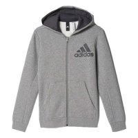 Imagem - Jaqueta Infantil Adidas YB Logo FZ Hood Bp8785 - 054529
