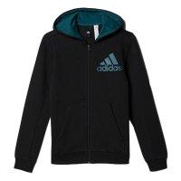 Imagem - Jaqueta Infantil Adidas YB Logo FZ Hood Bp8785 - 054530