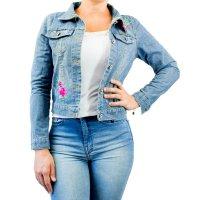 Imagem - Jaqueta Jeans Feminina Overcore  - 057780