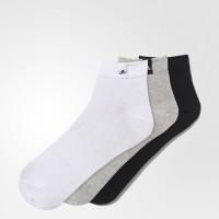 Imagem - Kit Meia Adidas Ankle Low 3 peças Aa2485  - 048416