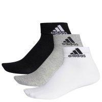 Imagem - Kit Meias Adidas Ankle Mid Thin 3 Pares Aa2320  - 057221