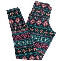 Imagem - Legging Rosa Tatuada Sublimada 415202  - 048254
