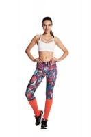 Imagem - Legging Rosa Tatuada Sublimada 415202  - 048256