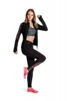 Imagem - Legging Rosa Tatuada Sublimado Fitness 411502  - 048212