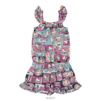 Imagem - Macaquinho Infantil Feminino Hello Kitty Cotton 0812.87316  - 051148