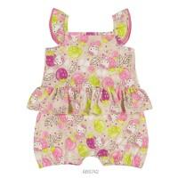 Imagem - Macaquinho Infantil Bebê Hello Kitty Estampado 0850.87269  - 051092