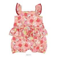 Imagem - Macaquinho Infantil Bebê Hello Kitty Estampado 0850.87269  - 051093