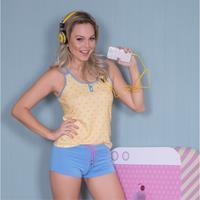 Imagem - Pijama Babydoll Recco Viscose 08577  - 043855