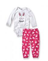 Imagem - Pijama Comprido Infantil Menina Hering Kids 56q71a07  - 054258