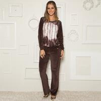 Imagem - Pijama Comprido Plush Print Recco 08331 - 040390