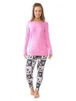 Imagem - Pijama Feminino Recco Viscose C/ Legging 09137  - 048552