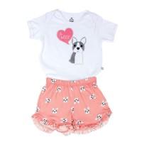 Imagem - Pijama Infantil Feminino Hering Kids 56nb1d10 - 050278