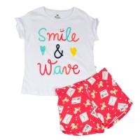 Imagem - Pijama Curto Infantil Feminino Hering Kids 56pfn0a10  - 050585