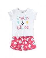 Imagem - Pijama Curto Infantil Feminino Hering Kids 56pfn0a10  - 050584