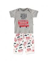 Imagem - Pijama Curto Infantil Masculino Hering Kids 56pqm2h10  - 049805