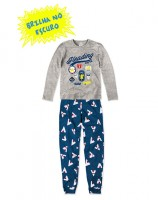 Imagem - Pijama Infantil Hering Kids Brilha No Escuro 56qam2h00  - 055037