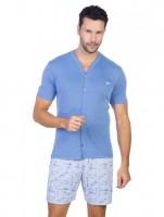 Imagem - Pijama Masculino Recco Microfibra 08521  - 043852