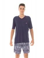 Imagem - Pijama Juvenil Masculino Recco Modo Avião 09484  - 051704