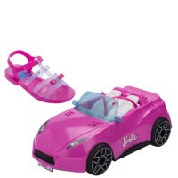 Imagem - Sandália Infantil Grendene Kids Barbie Pink Car 22166 - 060283