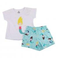 Imagem - Pijama Infantil Hering Kids Menina 56tw1ben  - 058445