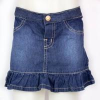 Imagem - Saia Jeans Infantil Hering Kids C6nyjelus  - 046489