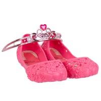 Imagem - Sapatilha Infantil Grendene Princesa C/ Coroa 21514  - 051154