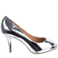 Imagem - Sapato Peep Toe Metalizado Vizzano Metal Glamour 1781.607  - 052492